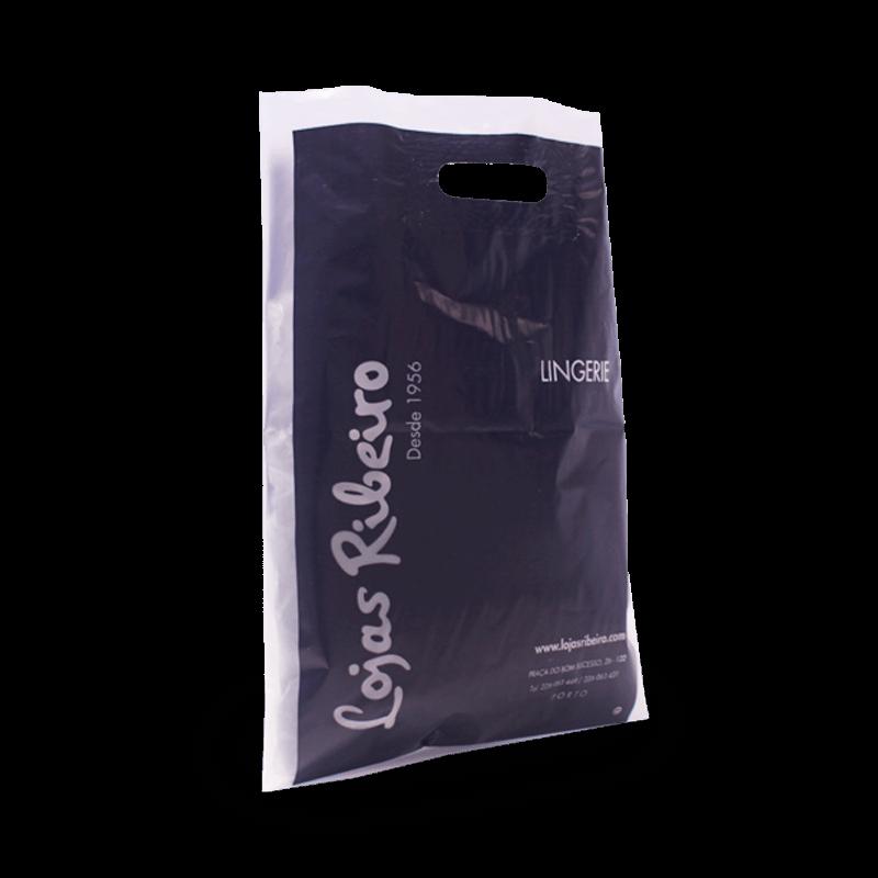 sacos plásticos asa reforço