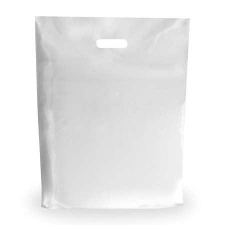 Sacos plásticos de asa reforço