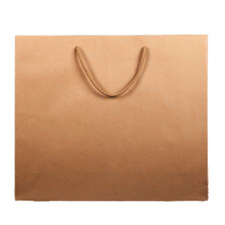 Saco de papel com asa cordão