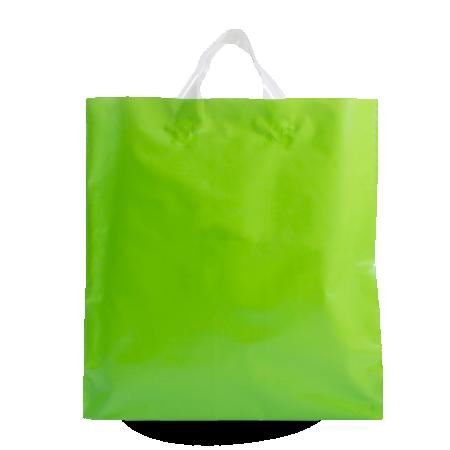 Sacos de plástico com asas flexíveis
