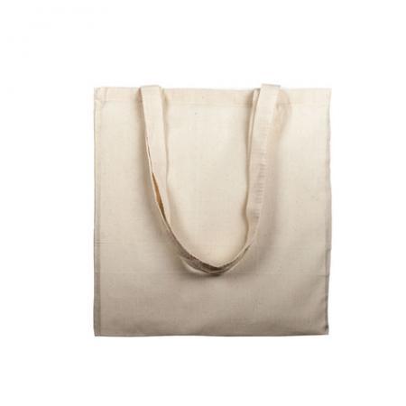 Saco de algodão 100% reutilizável e biodegradável